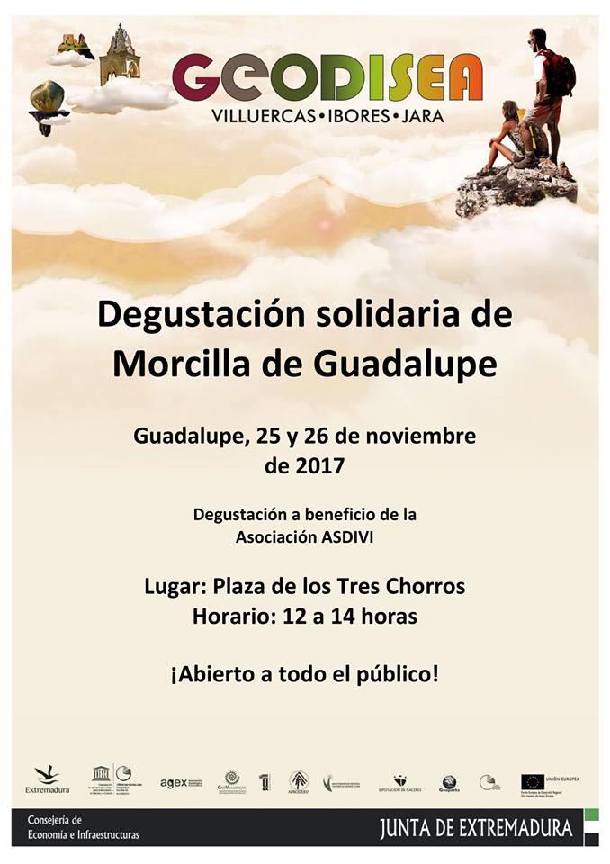 Degustación solidaria de Morcilla de Guadalupe