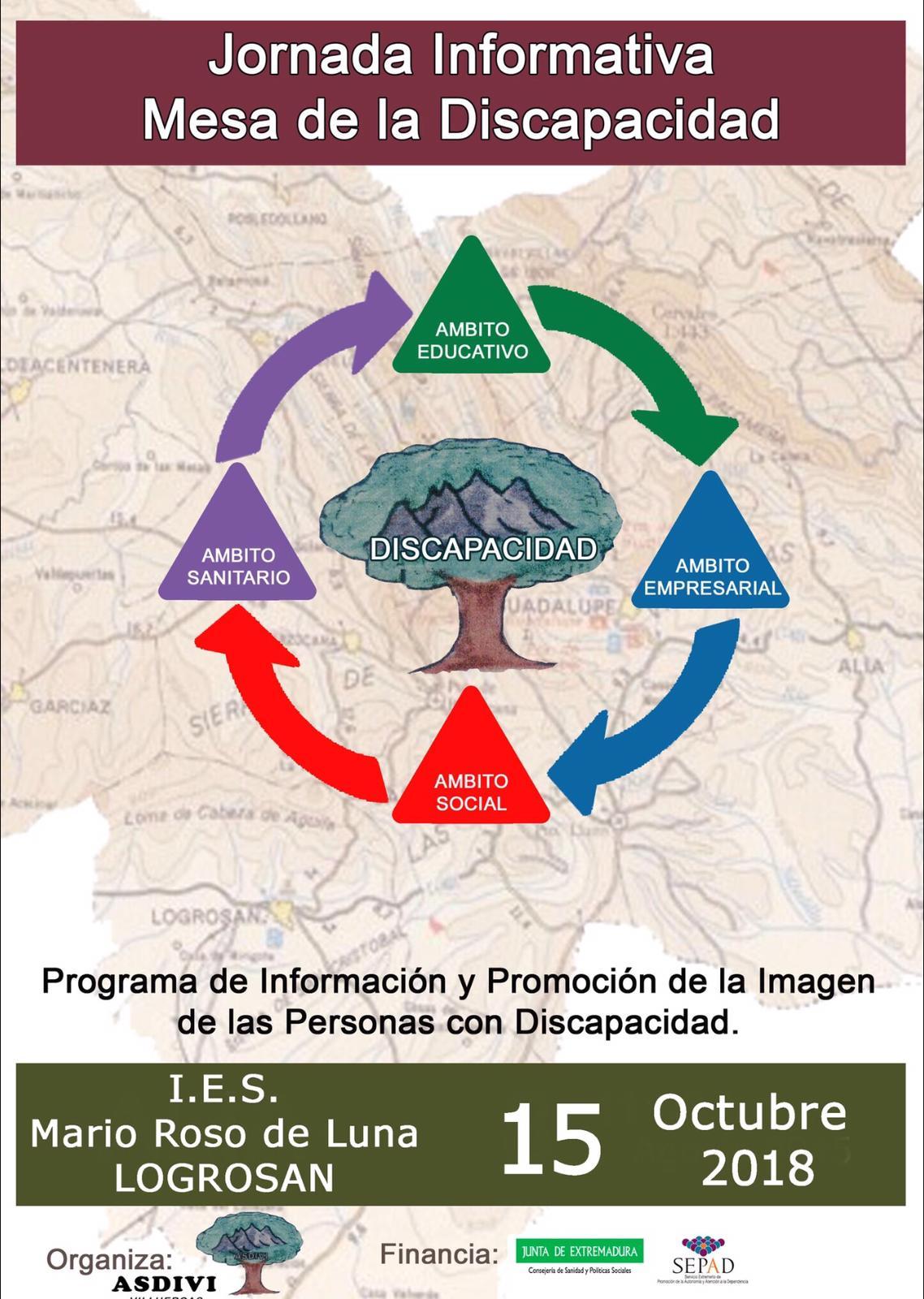 Campaña de sensibilización en Logrosán octubre 2018