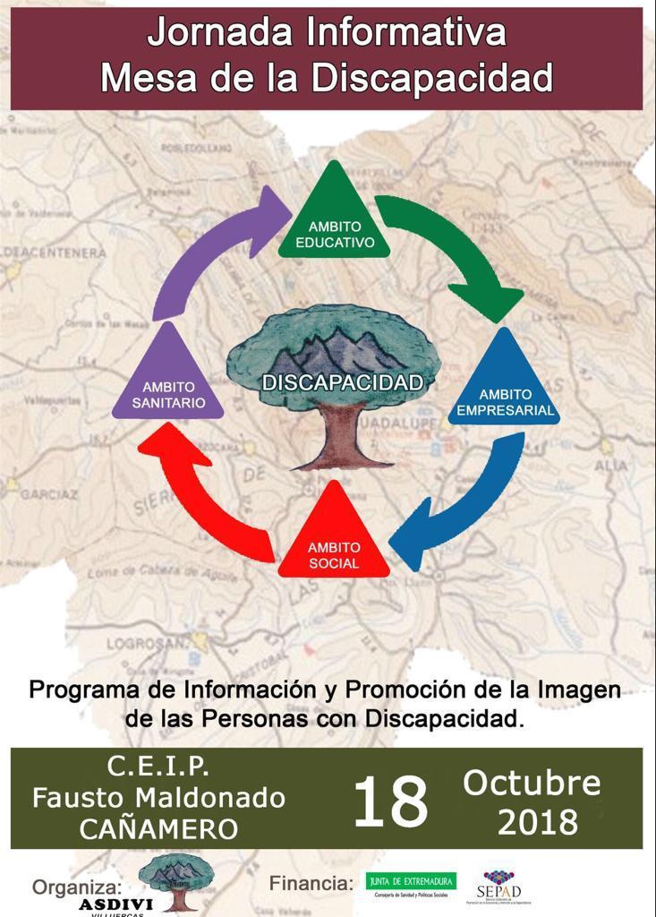 Campaña de sensibilización en el C.E.I.P. Fausto Maldonado de Cañamero octubre 2018