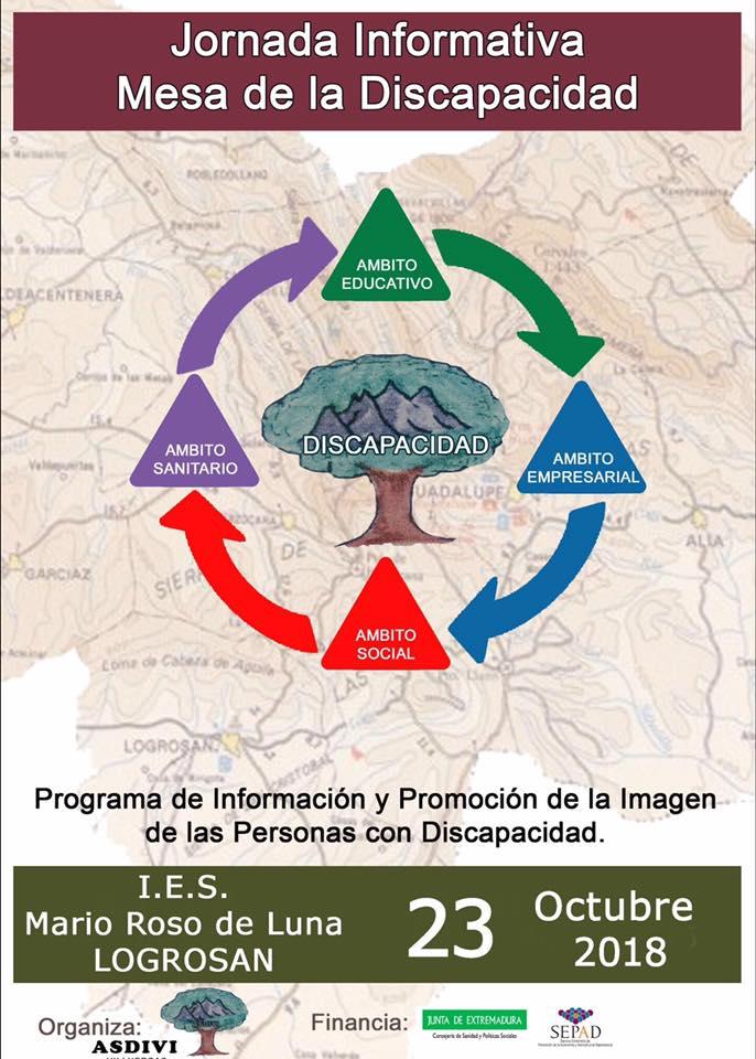 Campaña de sensibilización en el I.E.S. Mario Roso de Luna de Logrosán octubre 2018