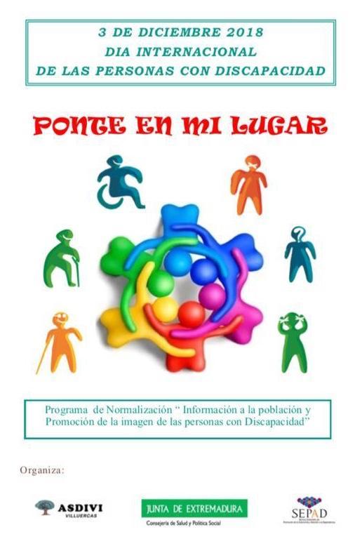 Día internacional de las personas con discapacidad 2018 - Guadalupe (Cáceres) 1