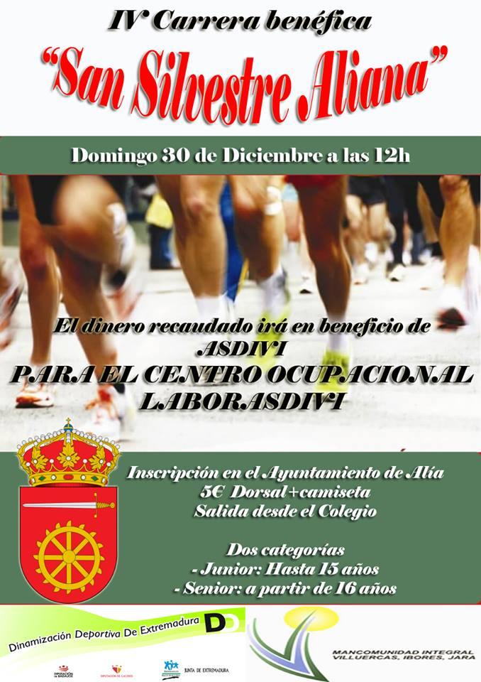 "IV Carrera benéfica ""San Silvestre Aliana"""