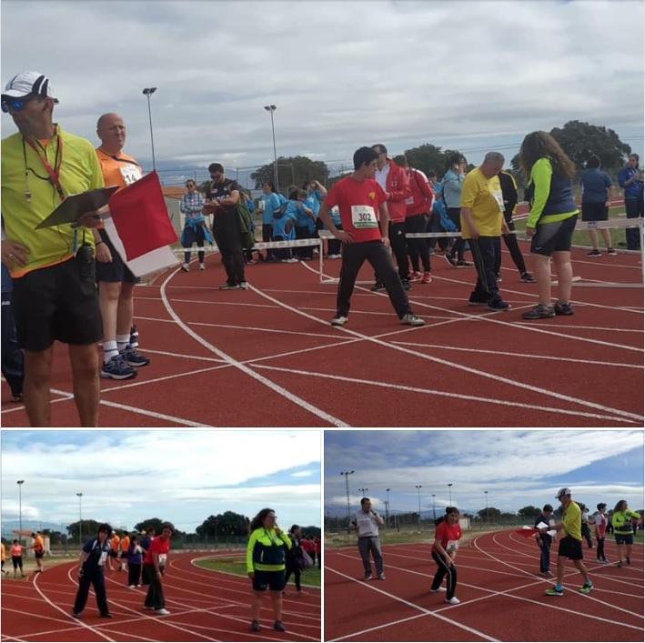 Resultados pruebas atletismo JEDES 2019