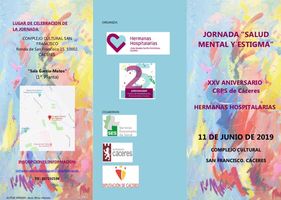 ASDIVI en el XXV aniversario CRPS de Cáceres