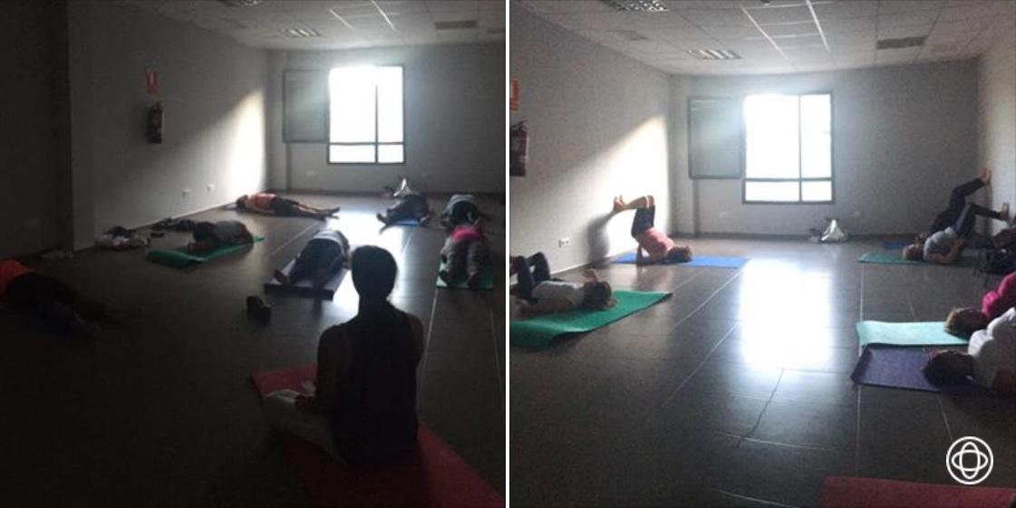 Clases de yoga relajación, respiración, meditación septiembre 2019