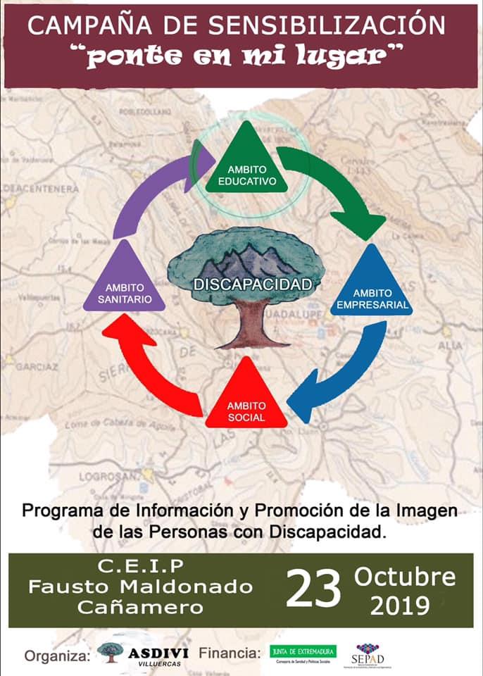 Campaña de sensibilización en el C.E.I.P. Fausto Maldonado 2019