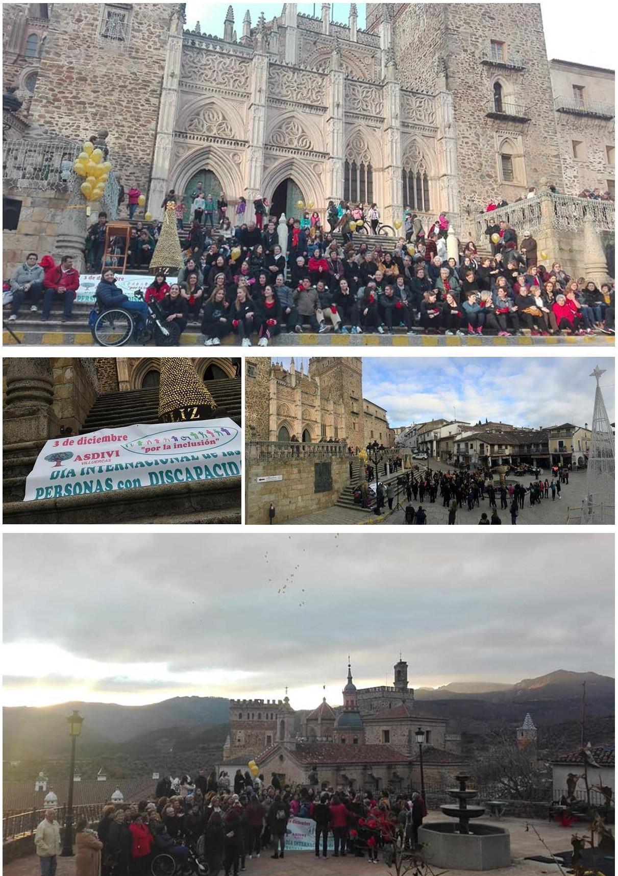 Día internacional de las personas con discapacidad y Flash Mob 2019