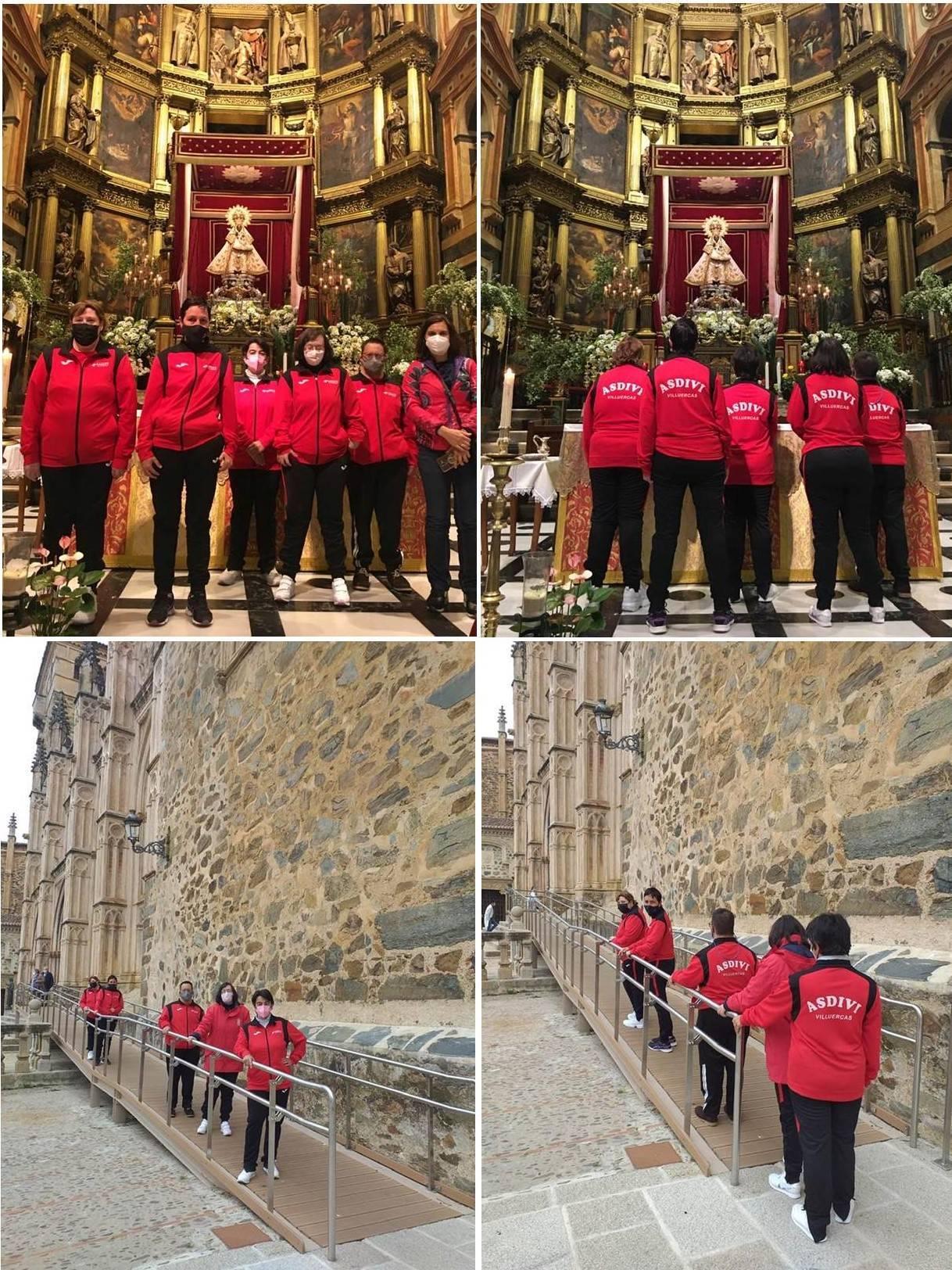Visita a la patrona de Extremadura (abril 2021)