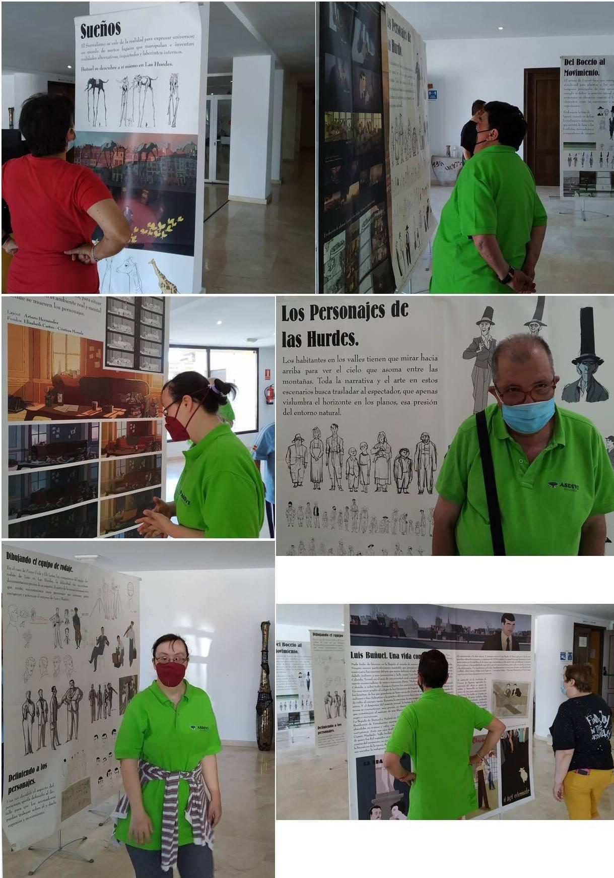 Exposición de arte de Buñuel En el laberinto de las tortugas (2021)
